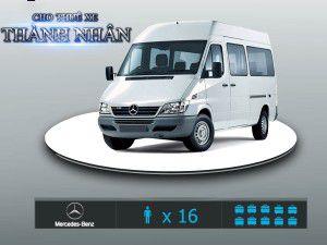 Cho Thuê Xe 16 Chỗ – Mercedes