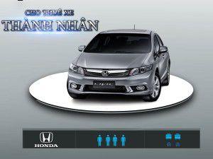 Cho Thuê Xe 4 Chỗ – Honda Civic