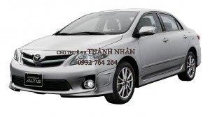 Sự lột xác ngoạn mục của Toyota Altis thế hệ mới
