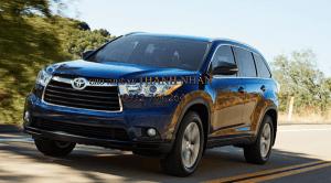 Giá xe Toyota Highlander 2014