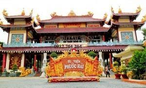 Cho thuê xe 7 chỗ đi chùa Phước Hải