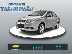 Cho Thuê Xe 4 Chỗ – Chevrolet