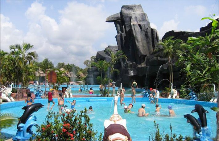 Du lịch Xuyên Mộc - Tắm suối nước nóng Bình Châu