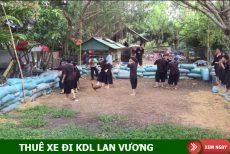 Thuê xe 16 chỗ đi KDL Lan Vương, Bến Tre