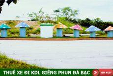 Thuê xe du lịch đi KDL Giếng phun Đá Bạc