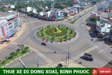 Giá thuê xe 7 chỗ đi Đồng Xoài, Bình Phước