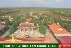 Thuê xe du lịch đi Thiền Viện Trúc Lâm Chánh Giác