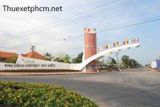 Thuê xe du lịch đi khu công nghiệp Đồng Tháp
