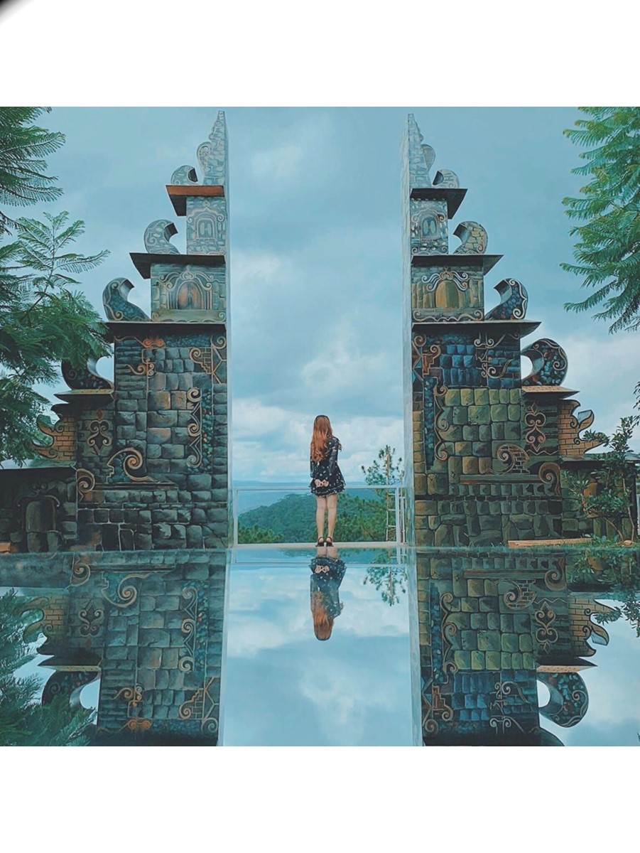 Cổng trời Bali Đà Lạt ( Ảnh sưu tầm)